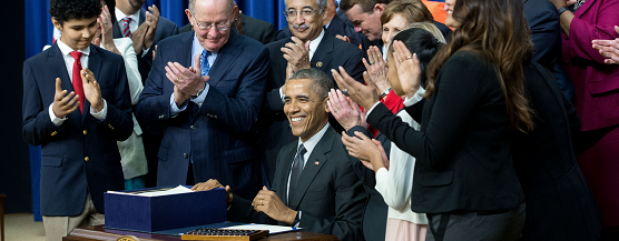 President Obama Signs Every Student Succeeds Act
