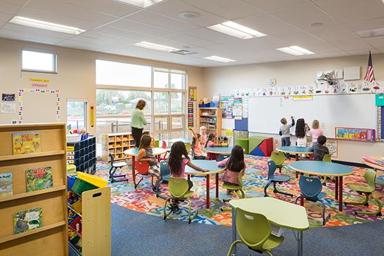 Ignacio Elementary School classroom