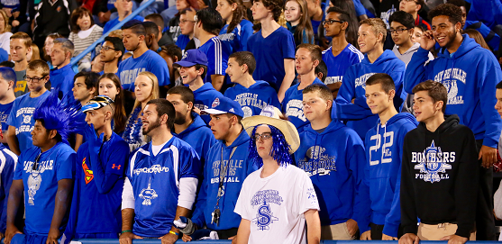 Football fans Sayreville