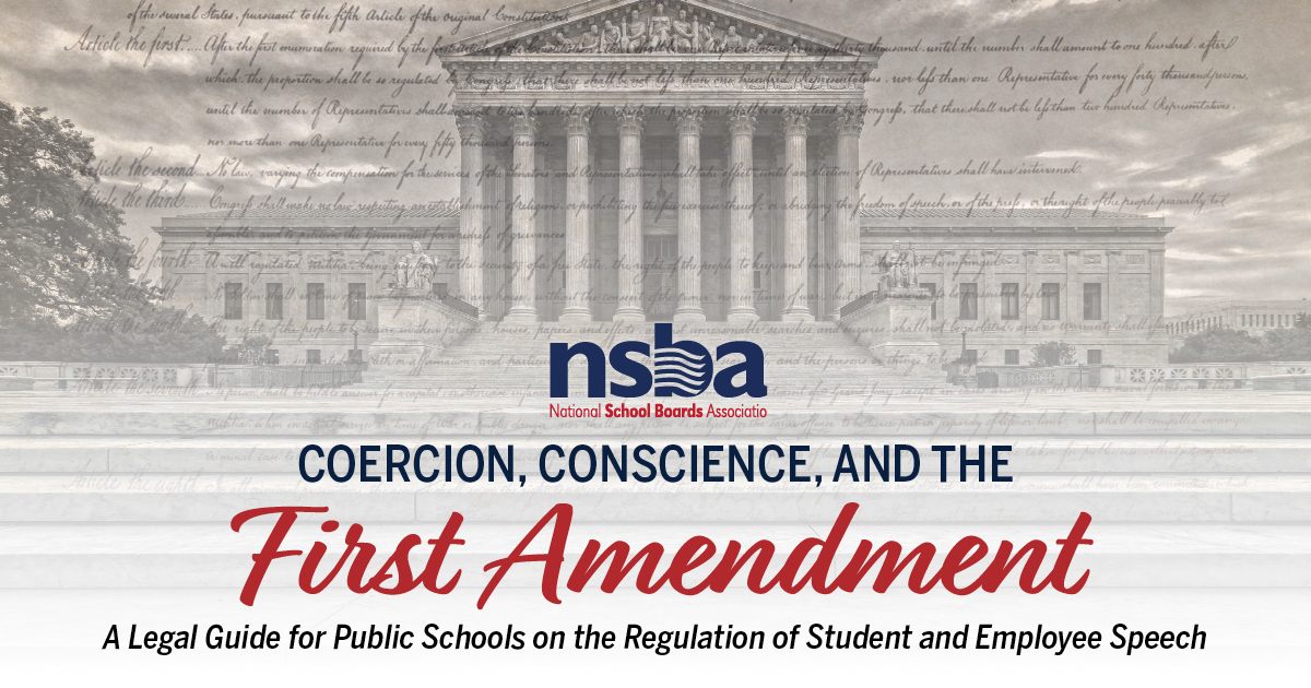 The First Amendment And Public Schools
