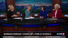 Barbara Morgan on KTVB