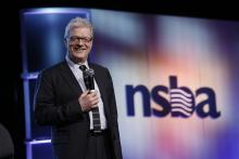 Sir Ken Robinson speaking about diversity in schools at NSBA 2014 Annual Conference